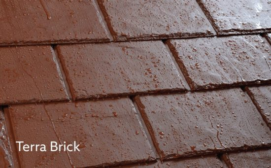Ultraroof Terra-brick tile