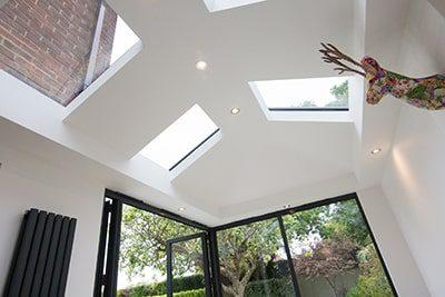 Ultraroof Internal plastered vaulted ceiling