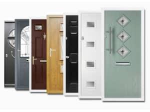 Composite door selection
