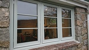 Timber windows Cornwall & devon