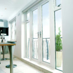 Rehau french Doors with side panels