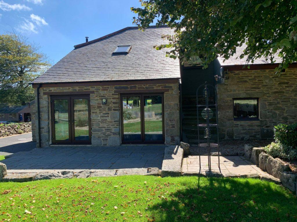 Barn conversion, rosewood patio doors launceston, cornwall