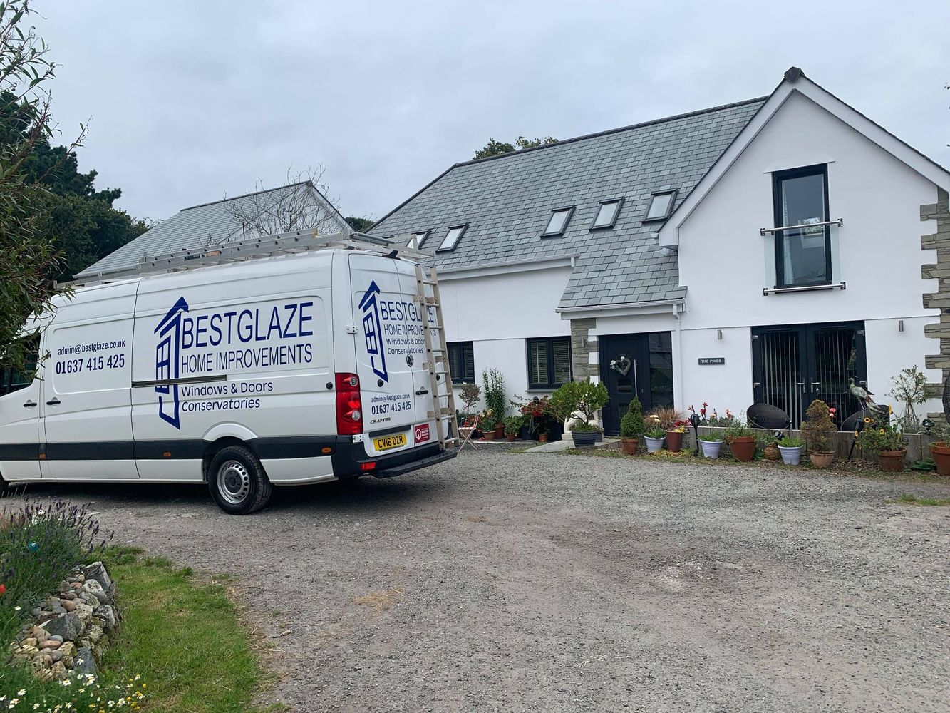 Anthracite Windows, Doors and Conservatories Cornwall