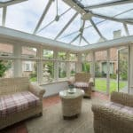 conservatory with residence 7 windows