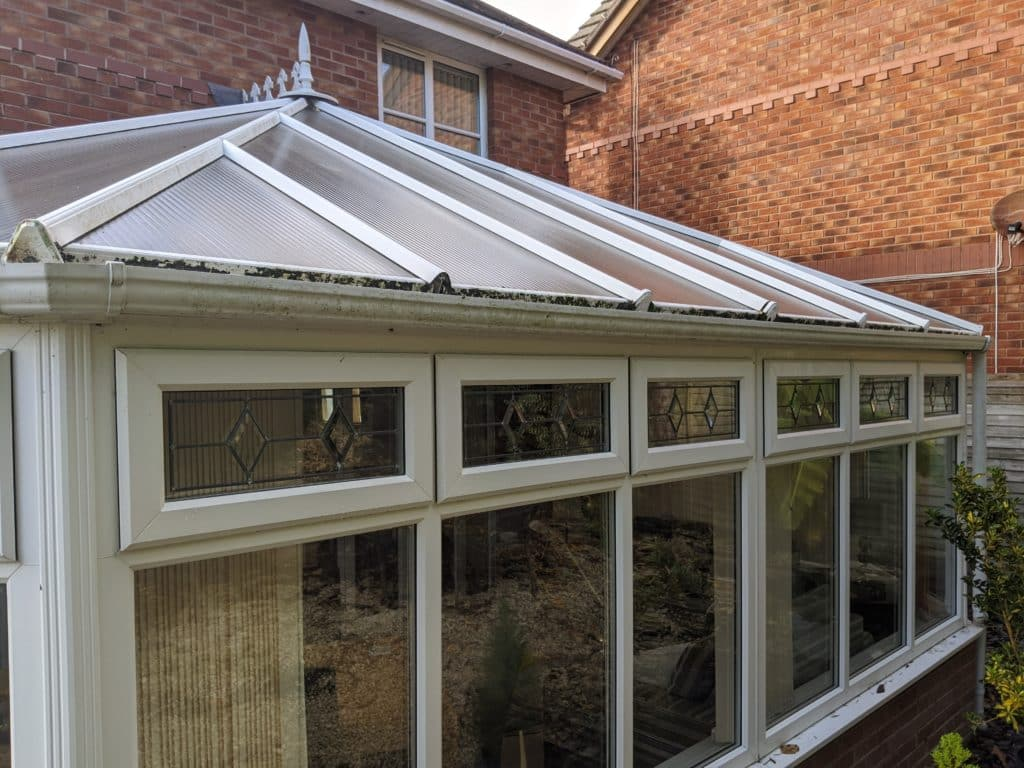 conservatories polycarbonate roof repairs