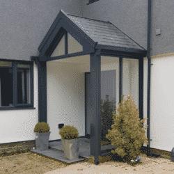 Porch Anthracite grey