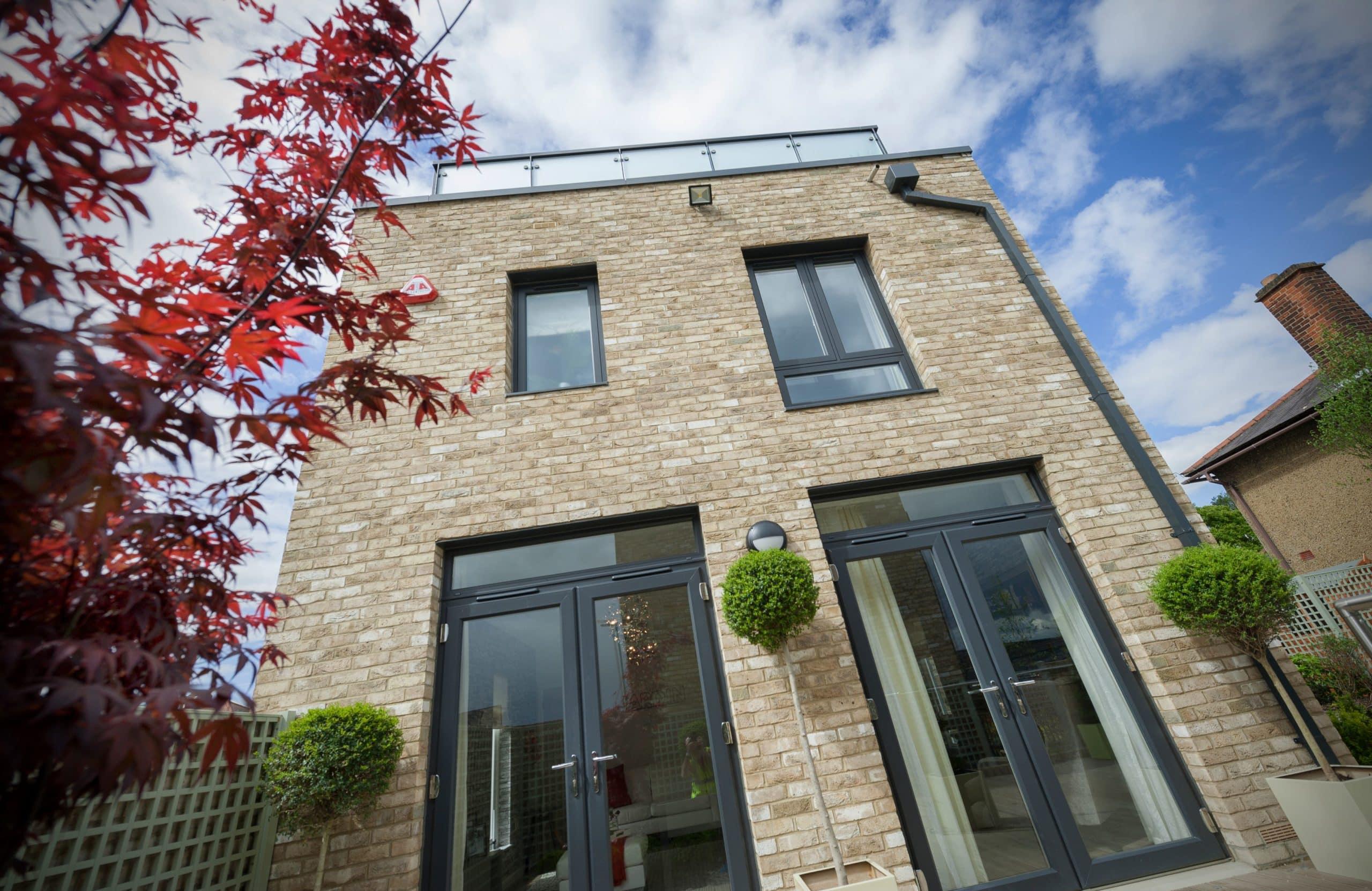modern style double glazing