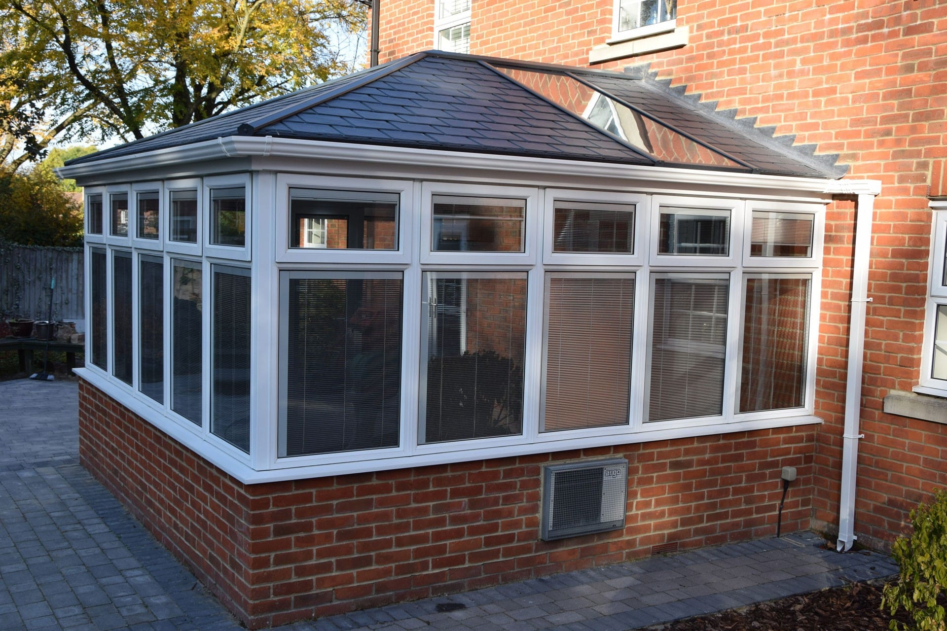 Ultraroof solid tiled conservatory roof