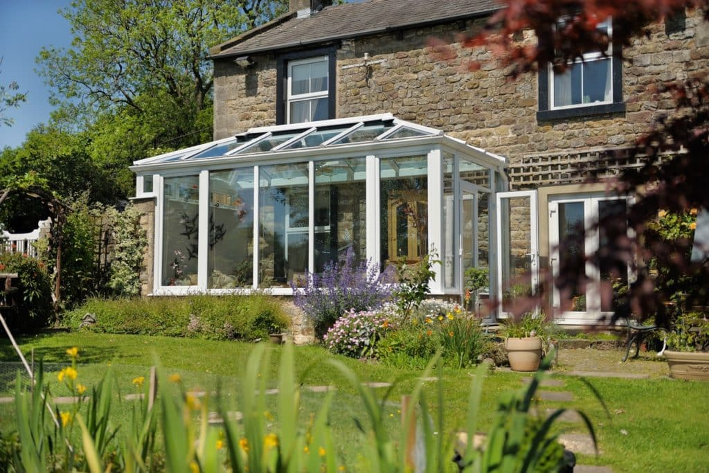 classic conservatory glass rooofs