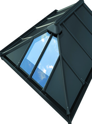 Livinroof solid conservatory roof
