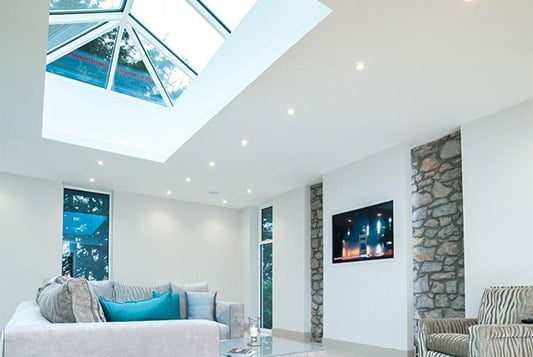 conservatory roof conversions spotlights led