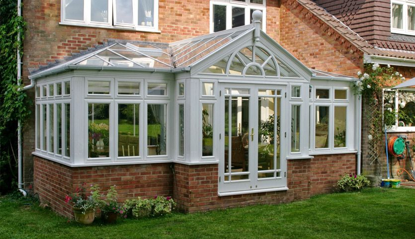 t shape types of conservatory