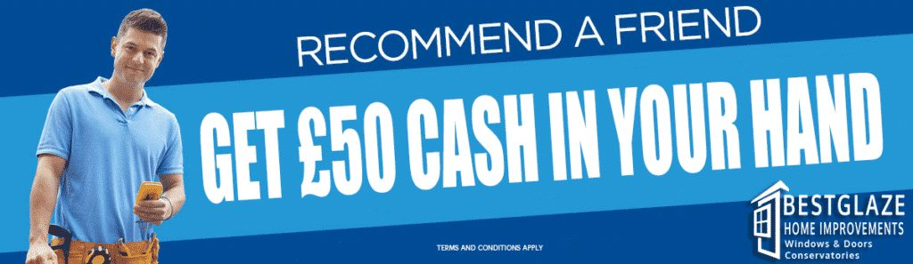 refer a friend and earn £50