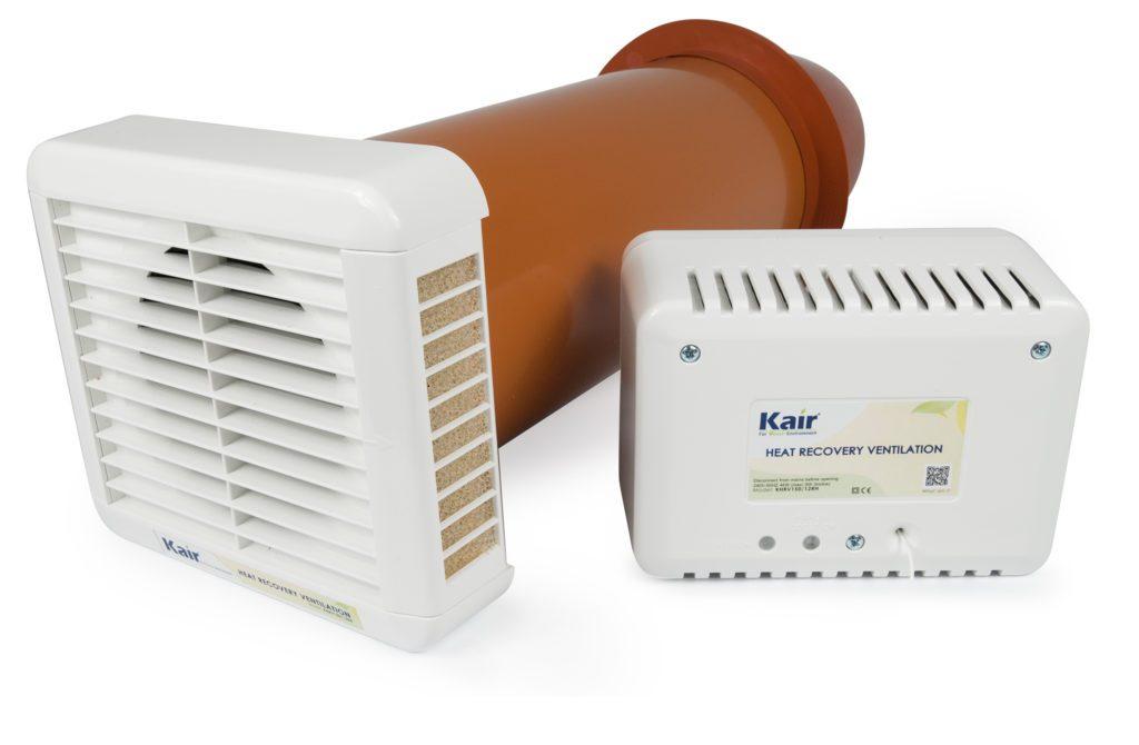 heat recovery room ventilator