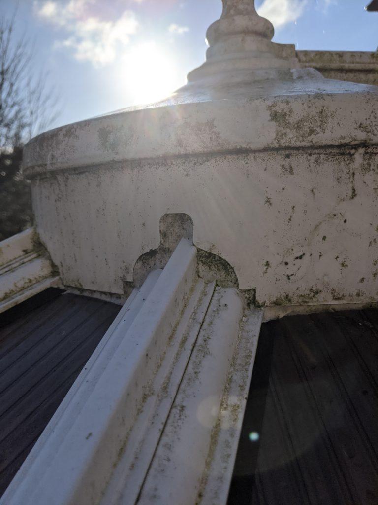 Leaking ridge, conservatory repairs