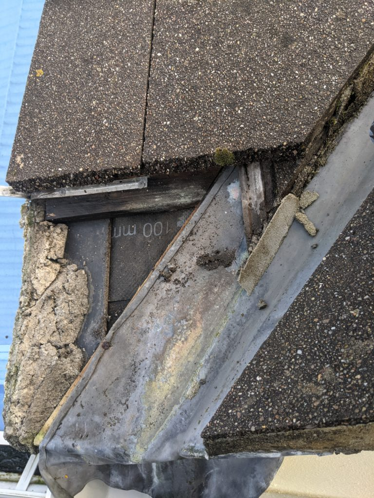 Sometimes leaks are caused by the roof