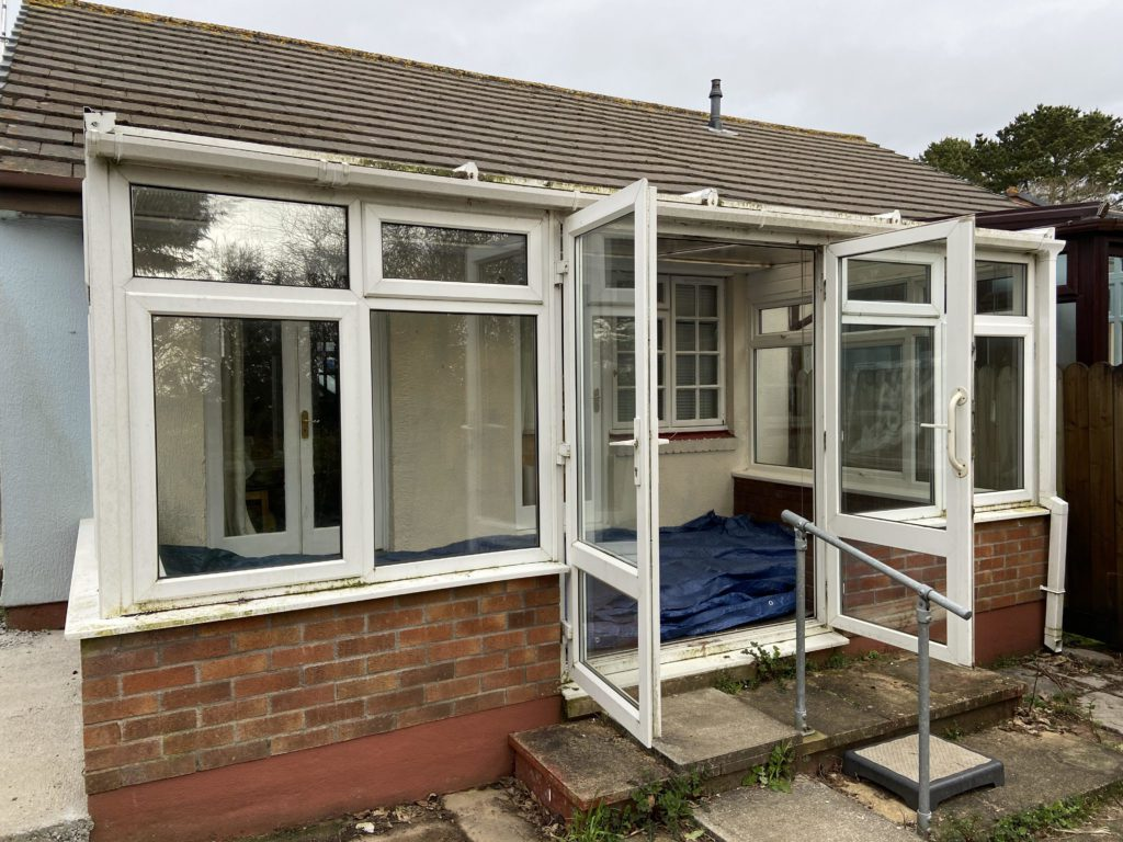 conservatory installation in Mabe, Penryn, Cornwall