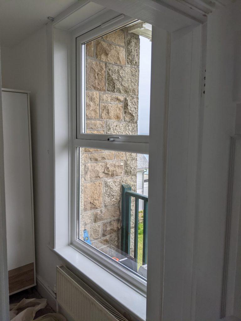 uPVC window installation in Carbis Bay