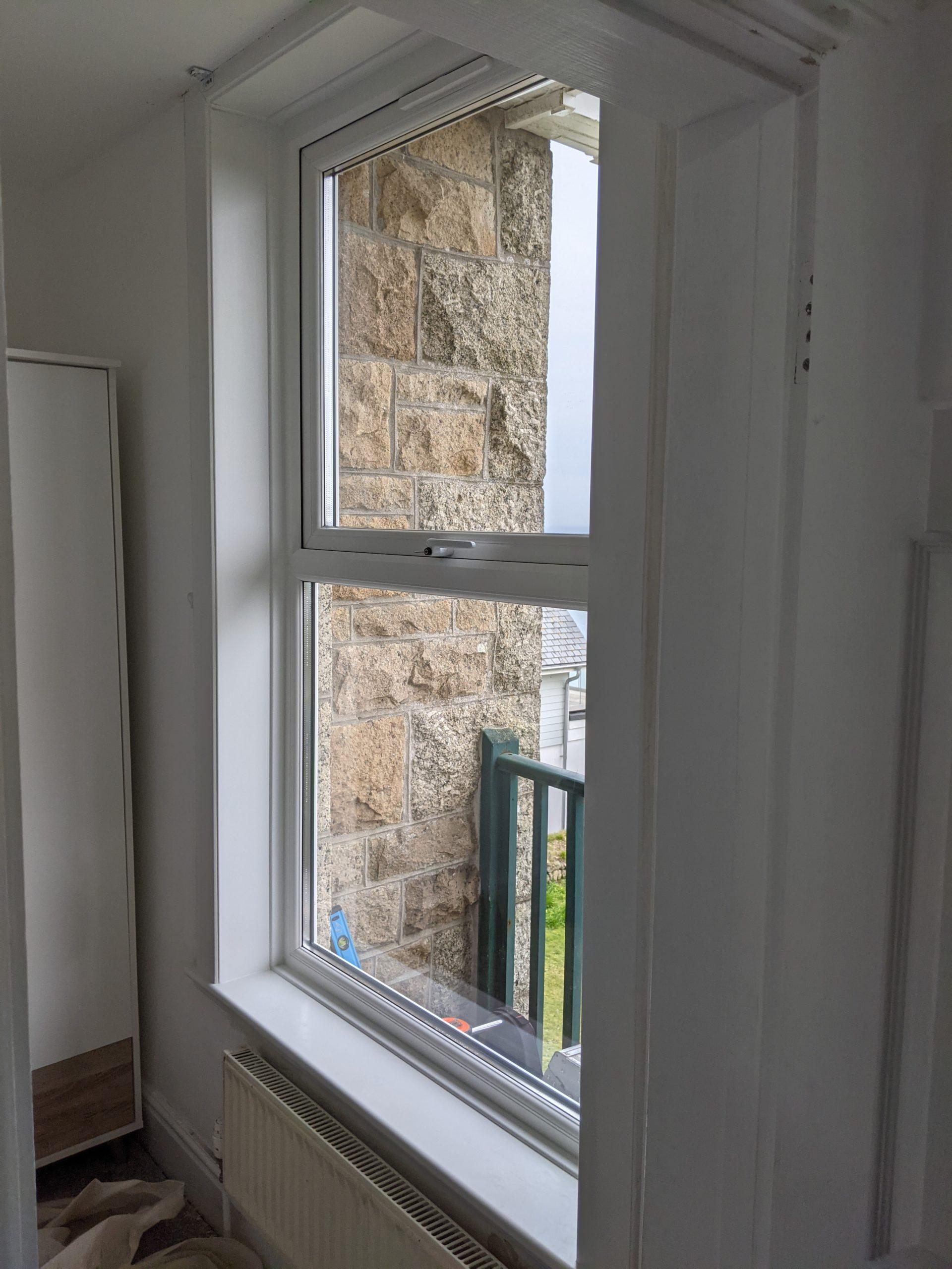 Upvc window installation carbis bay