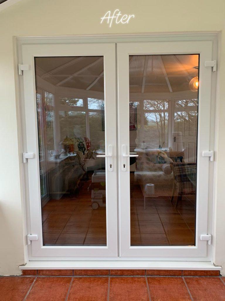 uPVC French Door Installation