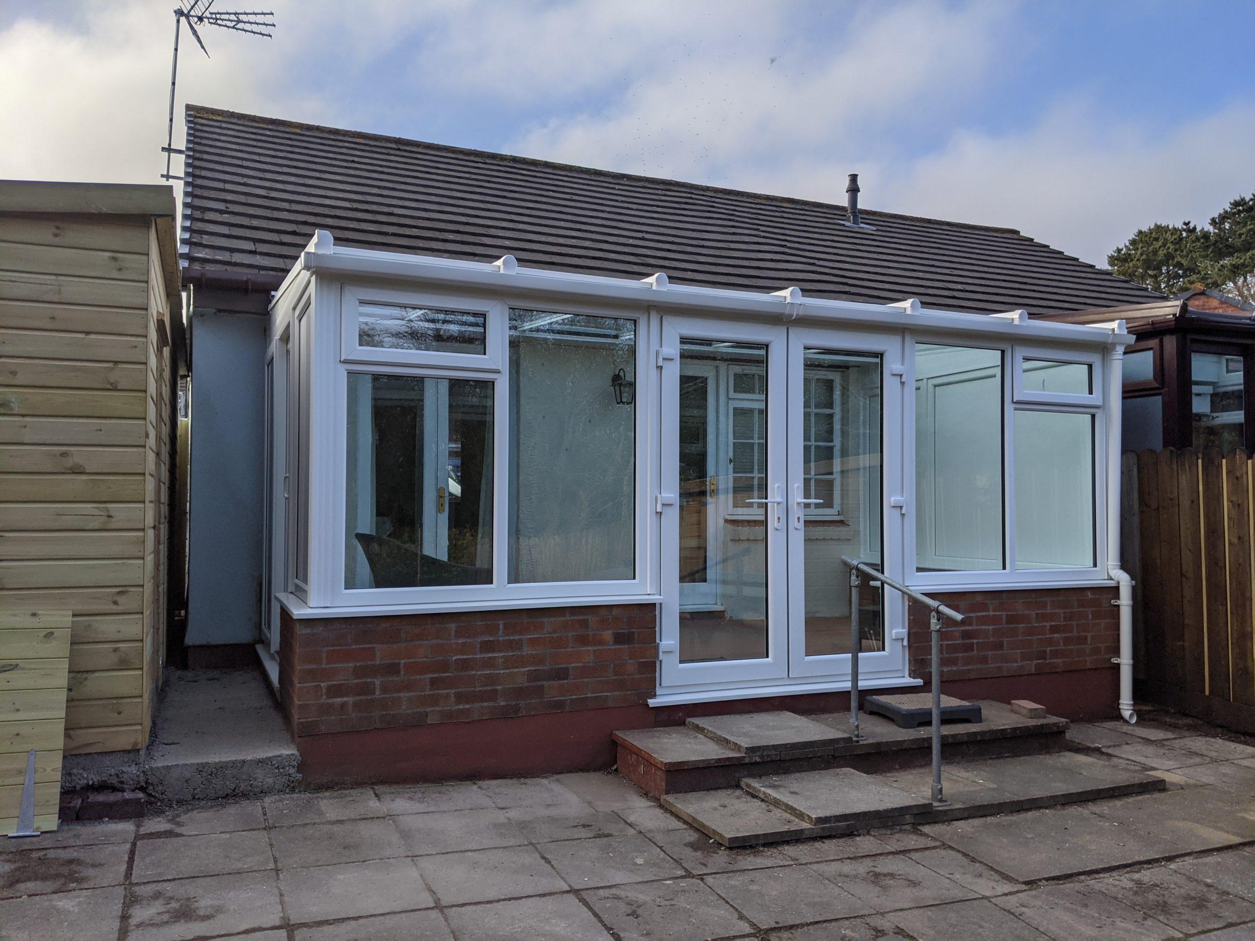 High performance glass conservatory