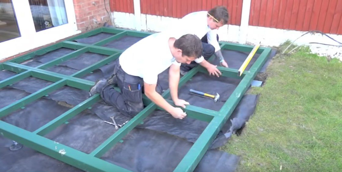 How To Build A Durabase Conservatory Base No 1 Guide
