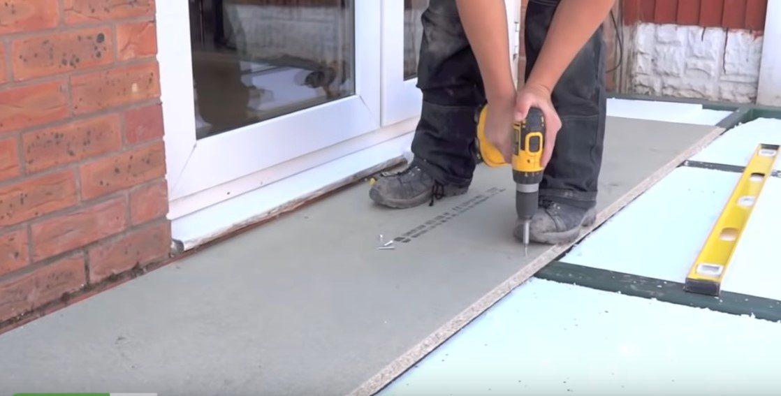 install durabase insulation and flooring