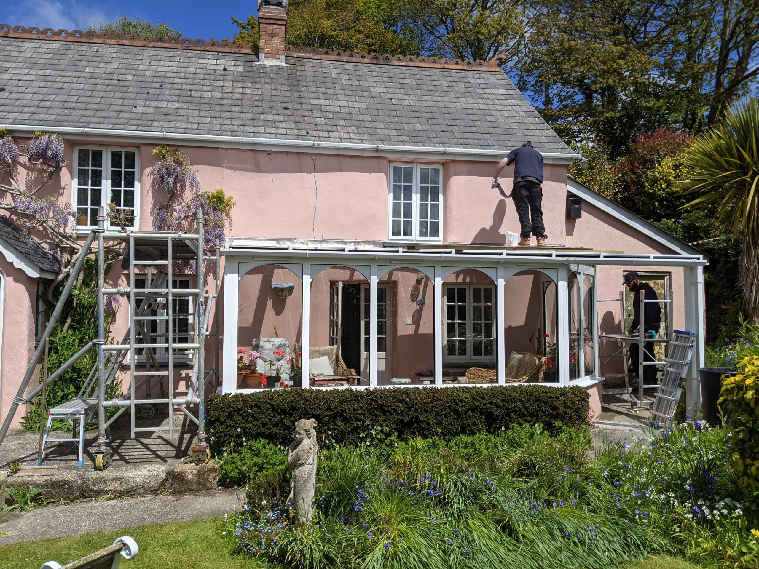 Conservatory repairs in Blackwater