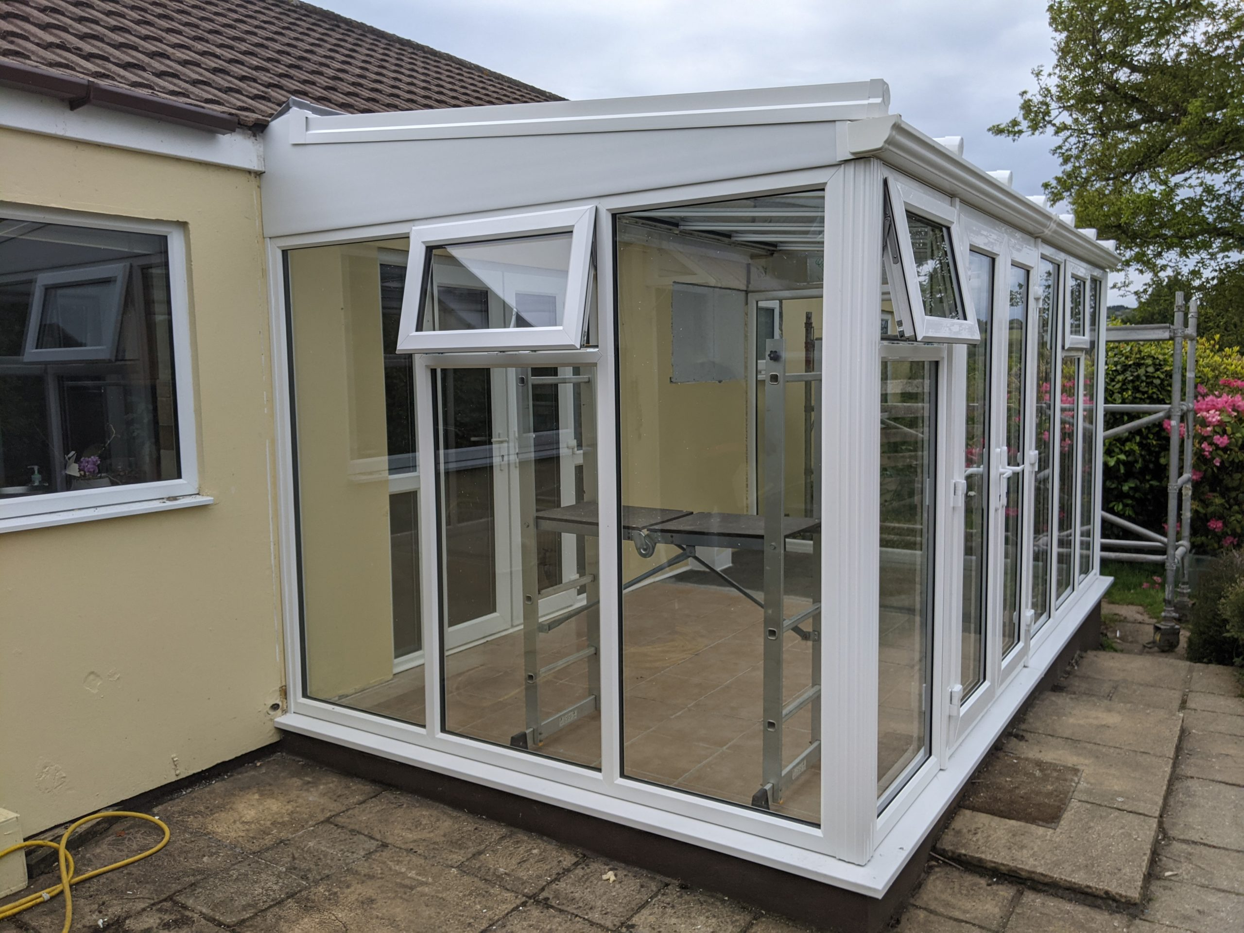 conservatory in frogpool cornwall