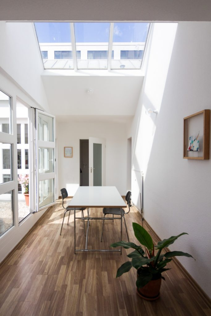 solid roof conservatory office