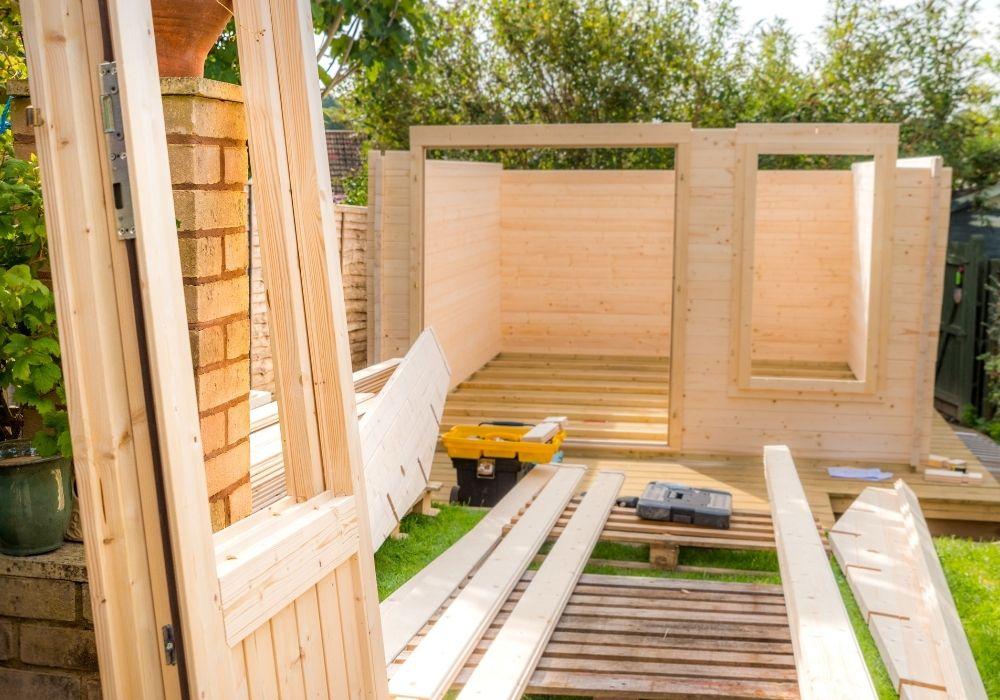 DIY Garden Room