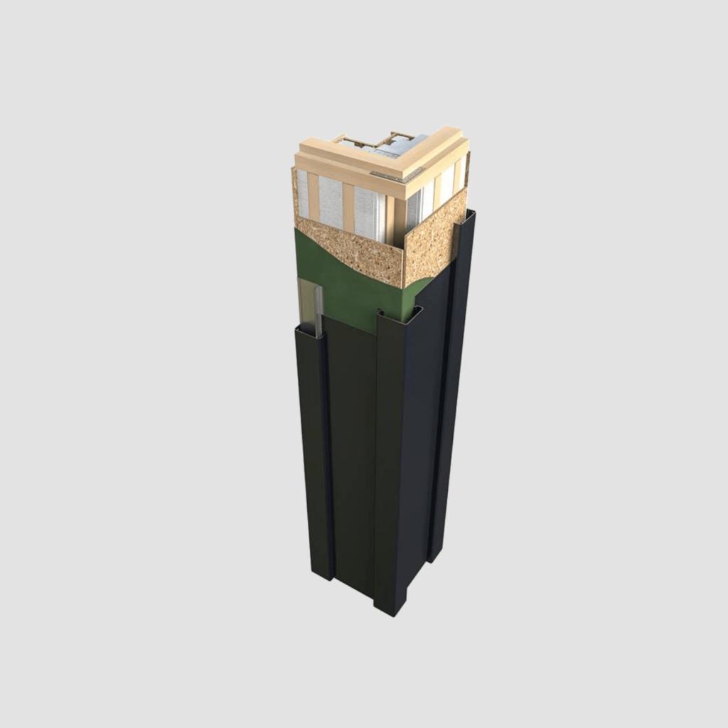 Super insulated columns