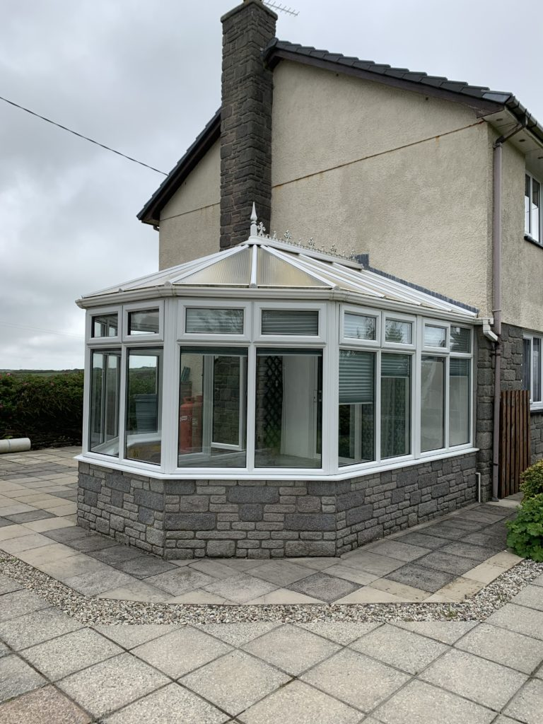 Polycarb conservatory roof