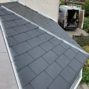 Ultraroof tiled conservatory roof lightweight design