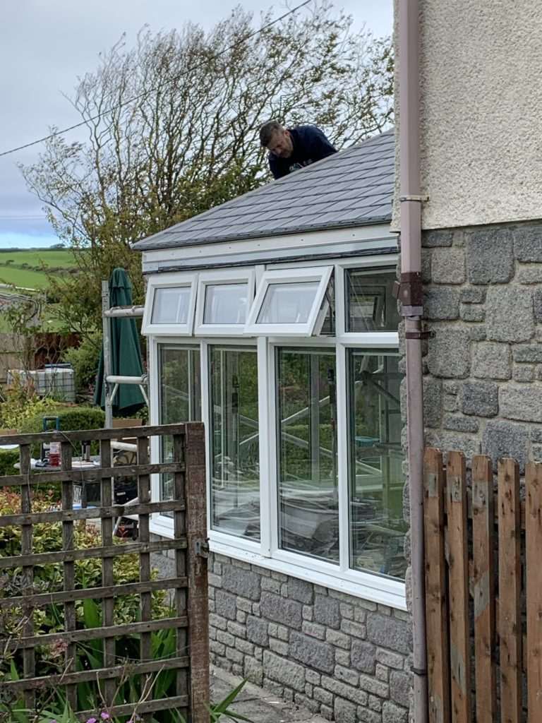 tiled conservatory roof replacement cornwall