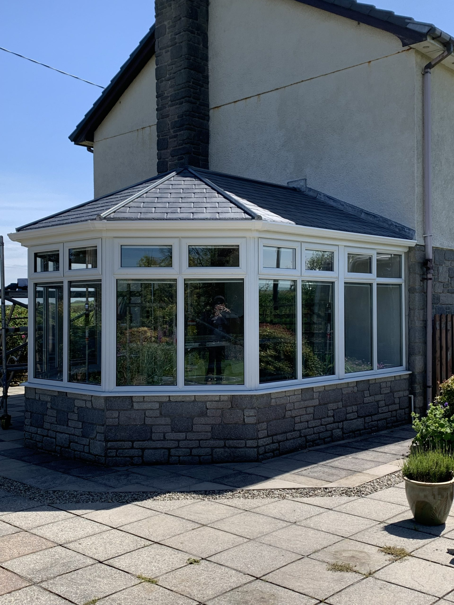 Ultraroof tiled conservatory roof installtion camelford, cornwall