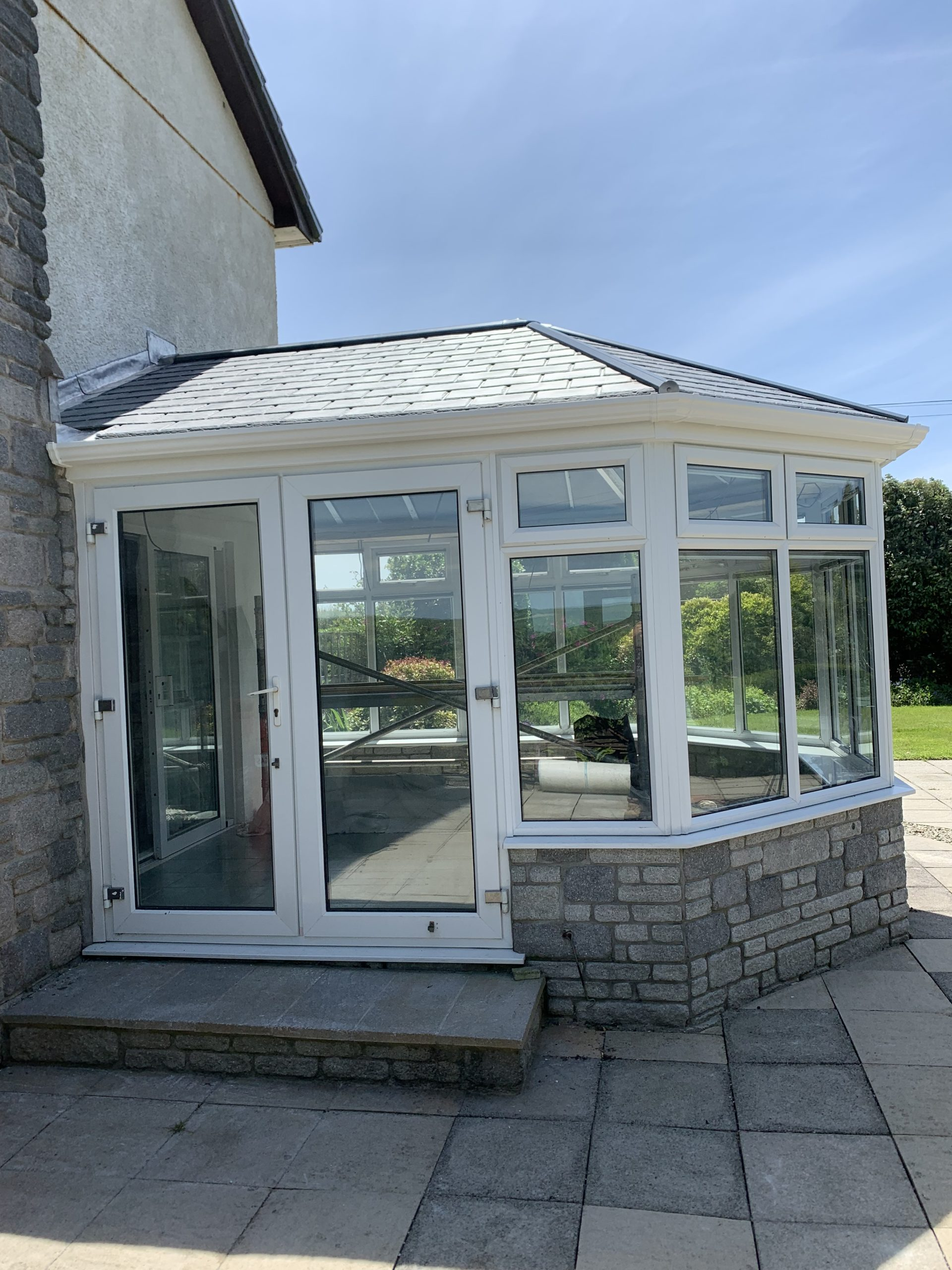 tiled conservatory roof replacement camelford cornwall