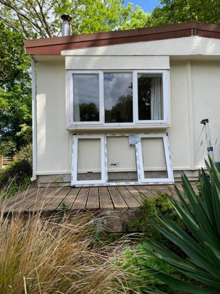 Before double glazed window installtion