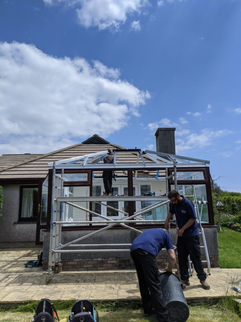conservatory roof replacement looe
