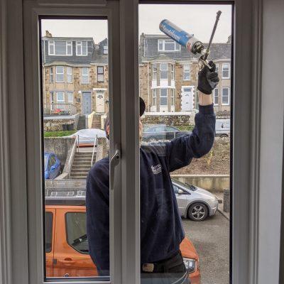 Double glazed Window installation to improve energy rating